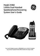 ge phone user manuals